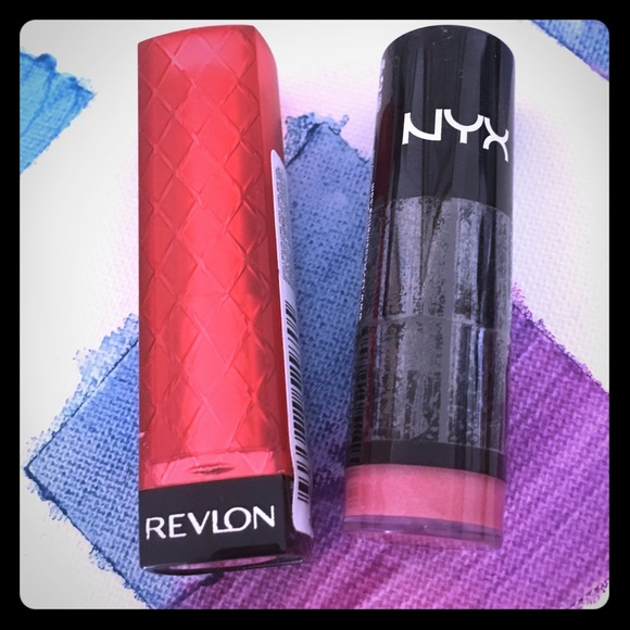 NYX Other - [NYX & Revlon] Lipsticks Set (BRAND NEW)